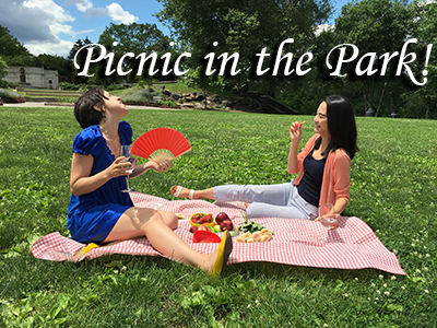 picnic in the park- dawn