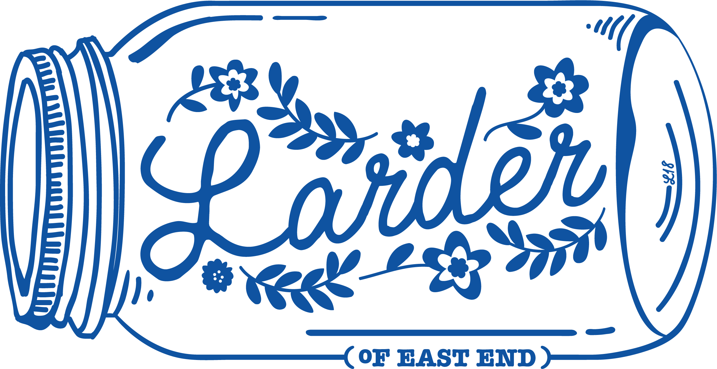 Logo for The Larder restaurant in East End Brewery