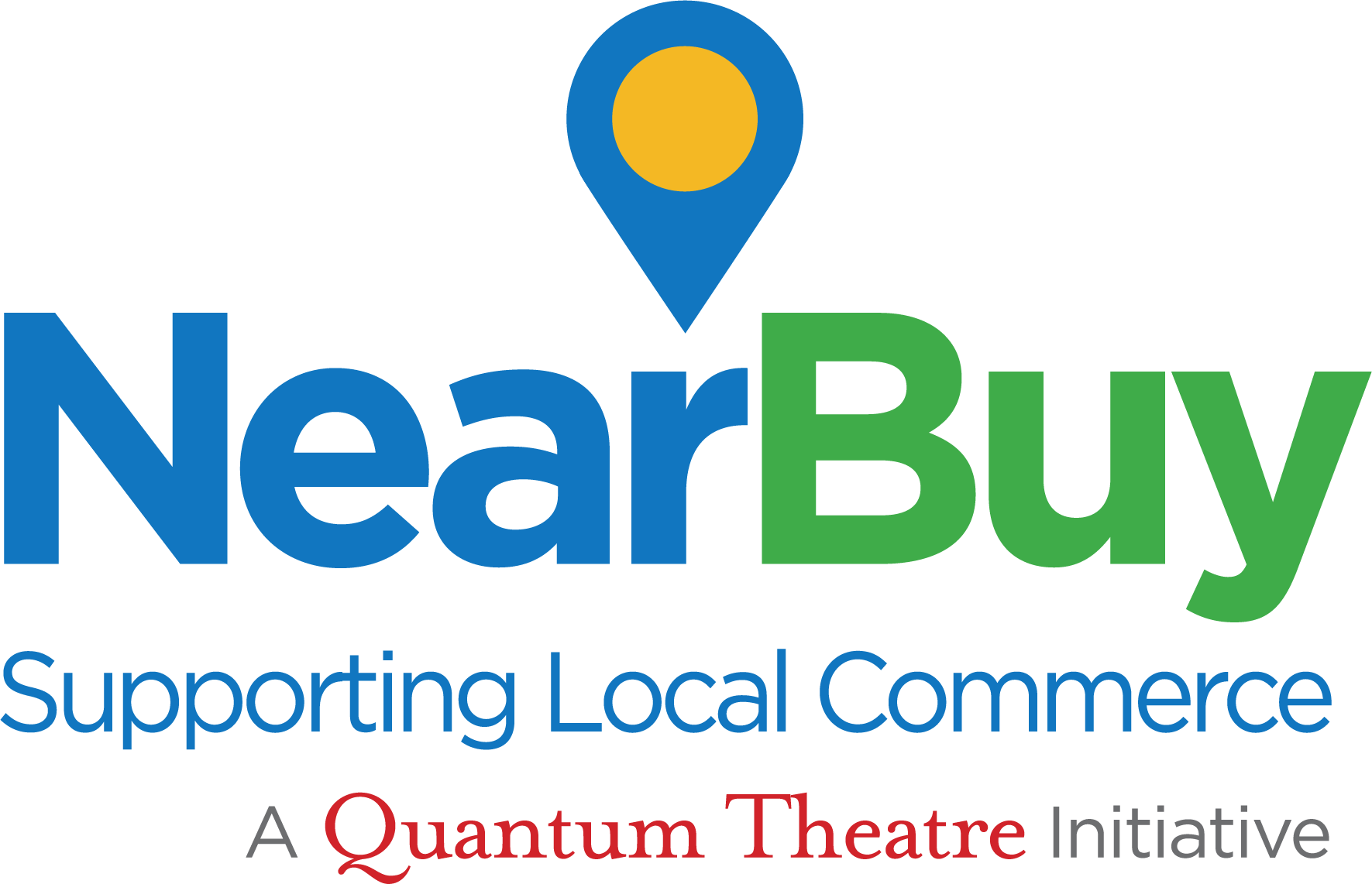 Near Buy logo: Supporting Local commerce