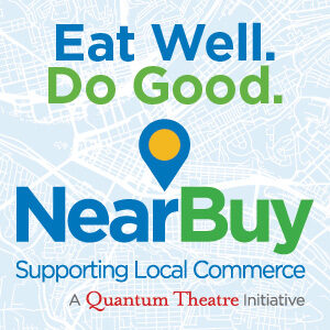Logo for Quantum Theatre's Near Buy Initiative